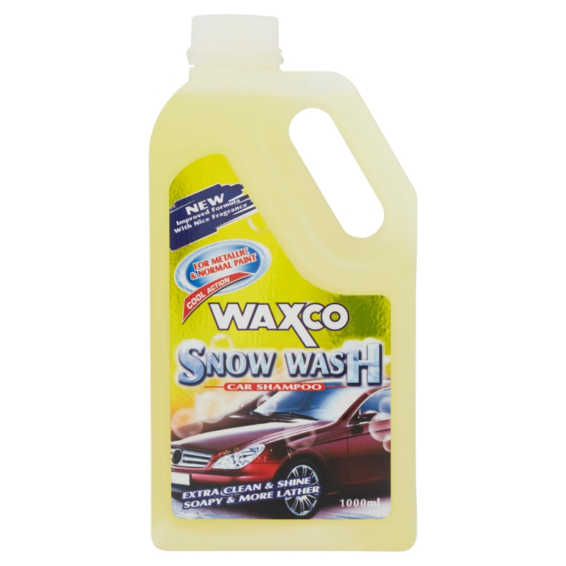 Waxco Snow Wash Car Shampoo (1L)