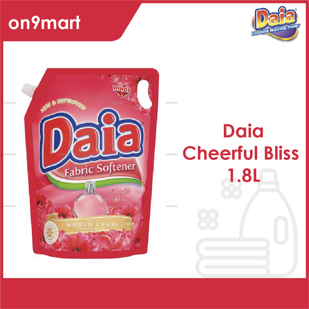 Daia Fabric Softener Cheerful Bliss Pouch 1.8L Red