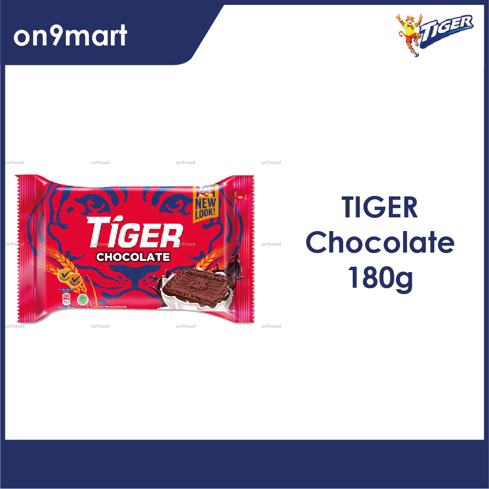 Tiger Biscuit Chocolate Flavour 180g