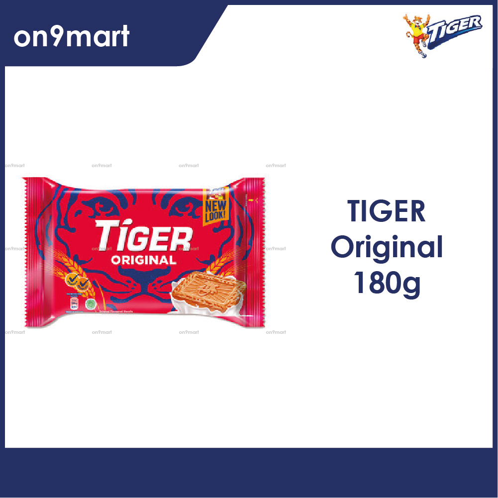 Tiger Biscuit Original Flavour 180g