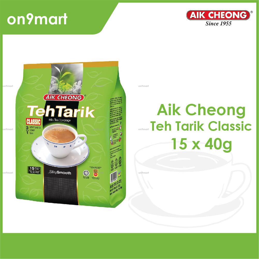 Aik Cheong Teh Tarik Classic 3 in 1 600g - 15s x 40g