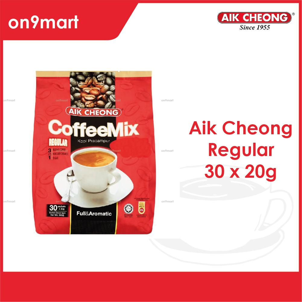 Aik Cheong Coffee Mix 3 in 1 Regular 600g - 30's x 20g