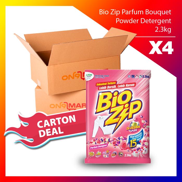 Bio Zip Parfum Bouquet Powder Detergent 2.3kg