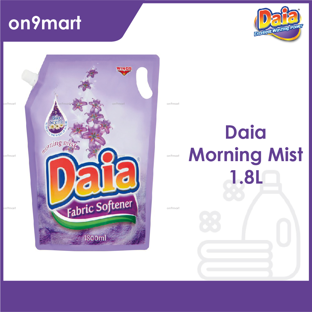 Daia Fabric Softener Morning Mist Pouch 1.8L Violet