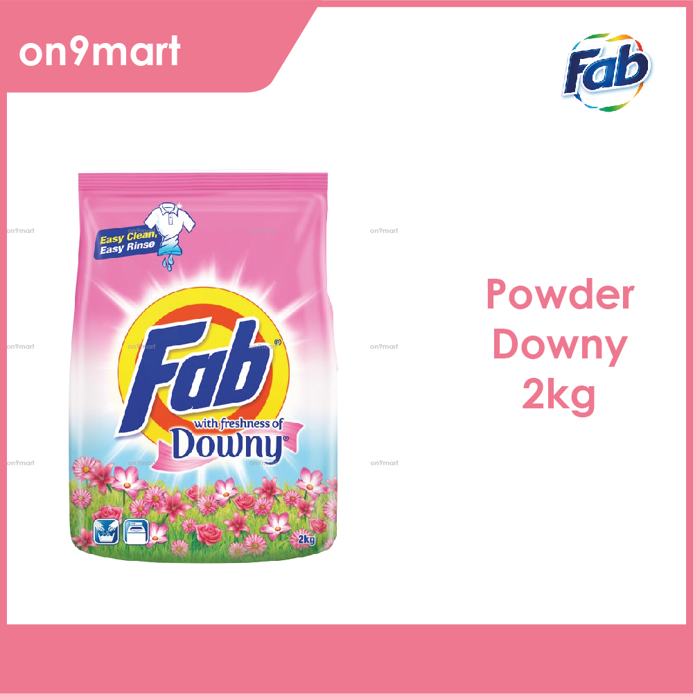 Fab with Freshness of Downy Laundry Powder 2kg