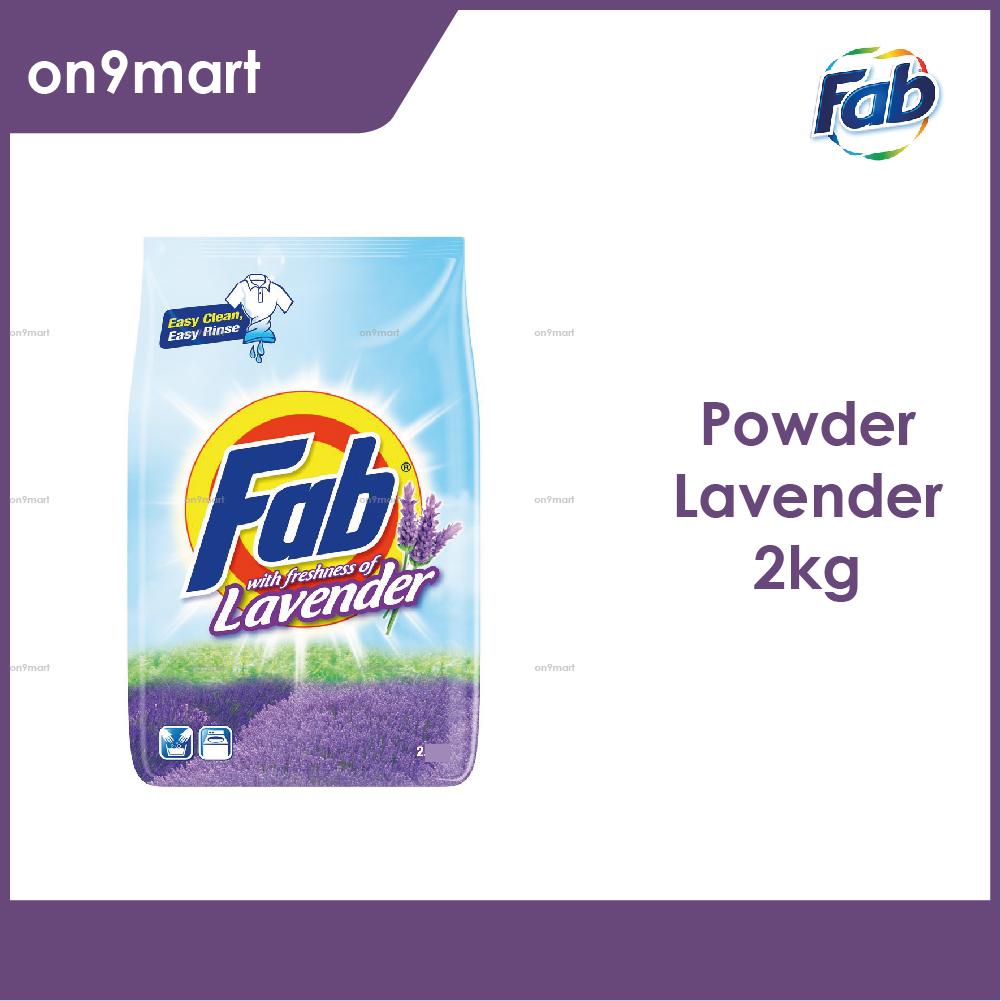 Fab Lavender Laundry Detergent Powder 2kg
