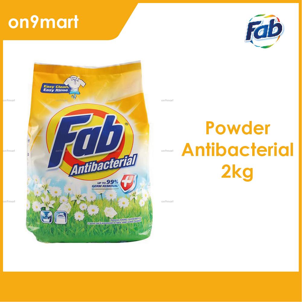 Fab Antibacterial Detergent Powder 2kg