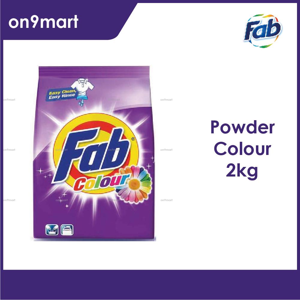 Fab Colour Detergent Powder 2kg