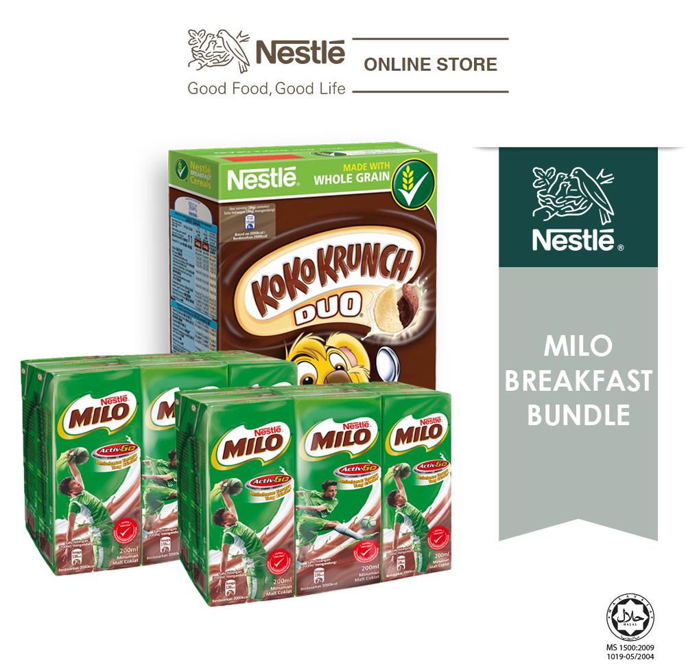 Milo Breakfast Bundle
