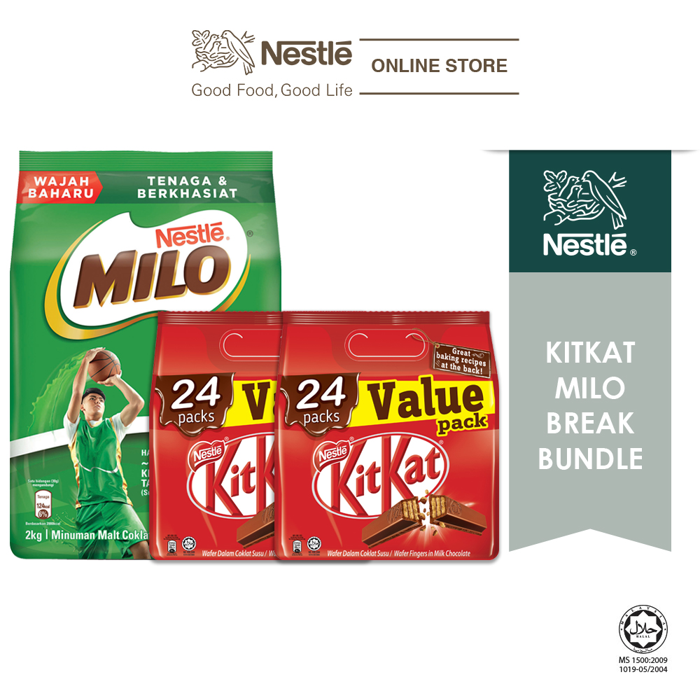 Kitkat Milo Break Bundle
