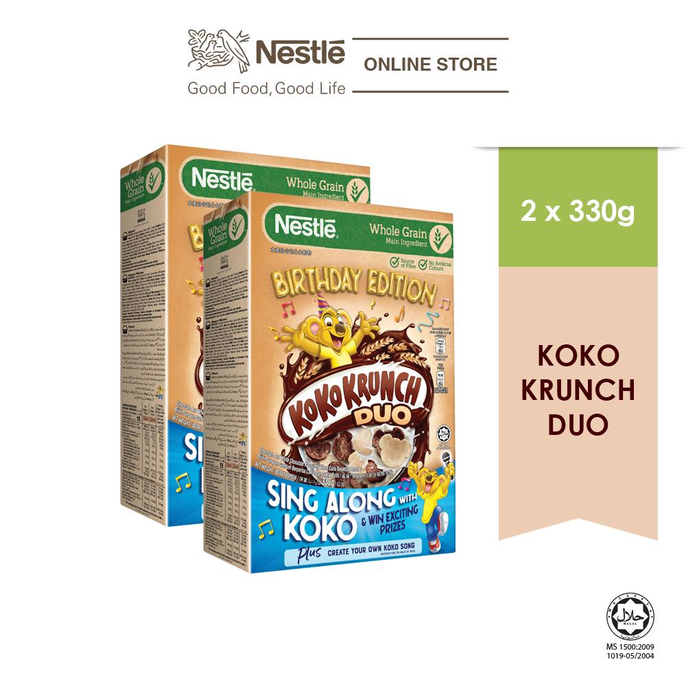 Nestle KOKO KRUNCH Duo 330g Koko Contest, 2 boxes