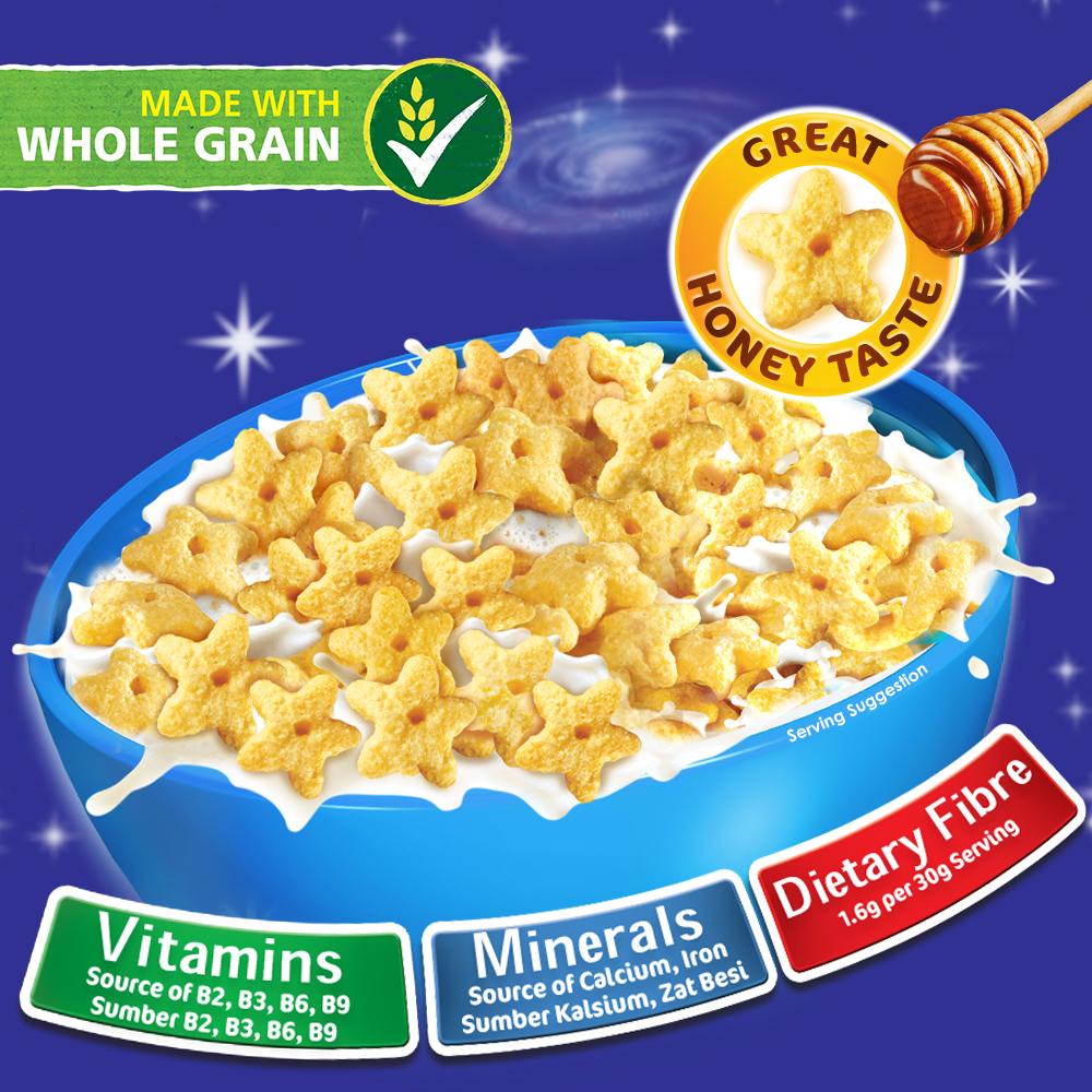 Nestle HONEY STAR Cereal 330g KOKO Birthday Contest x 2 boxes