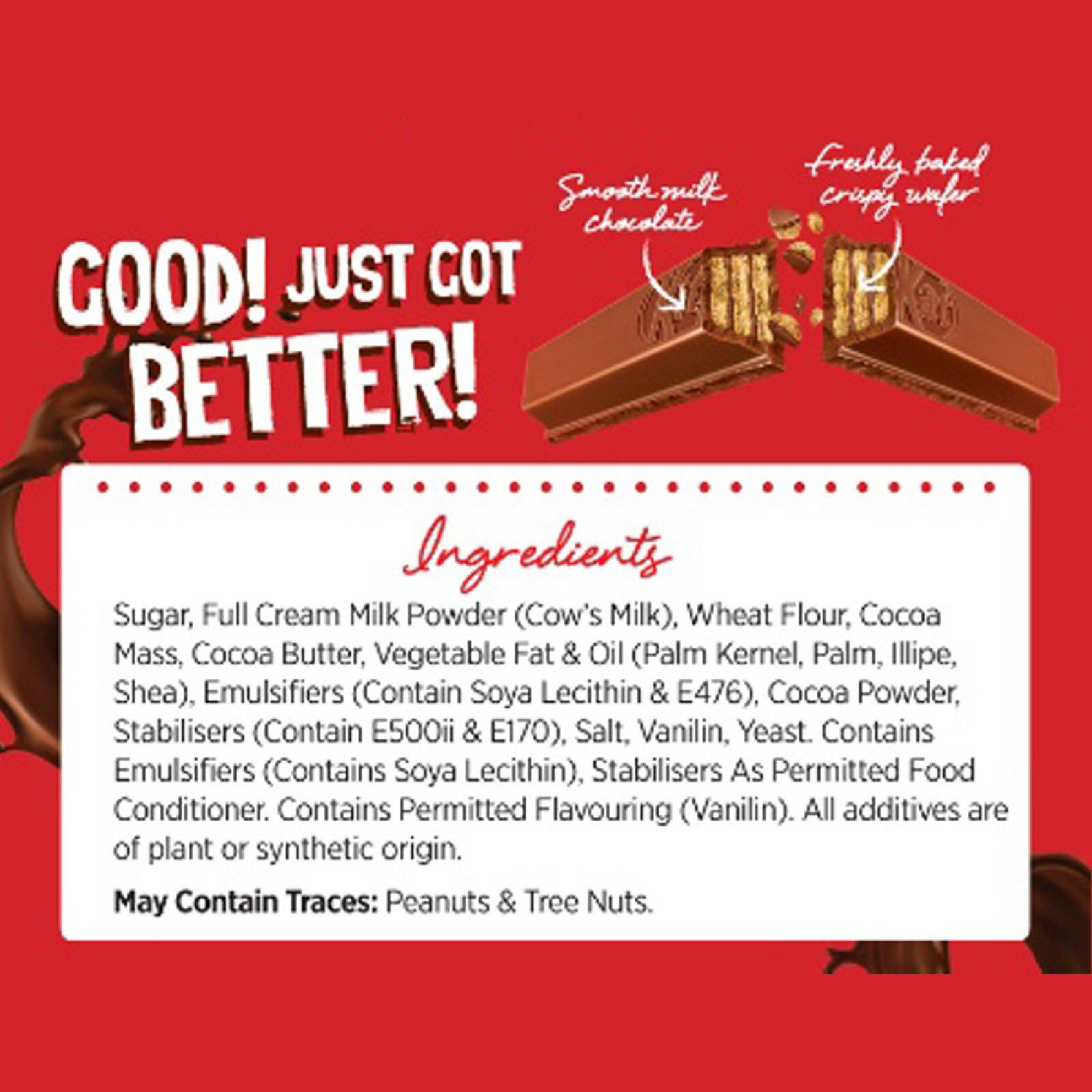 Kit Kat Chocolate Value Pack (24s x 17g)