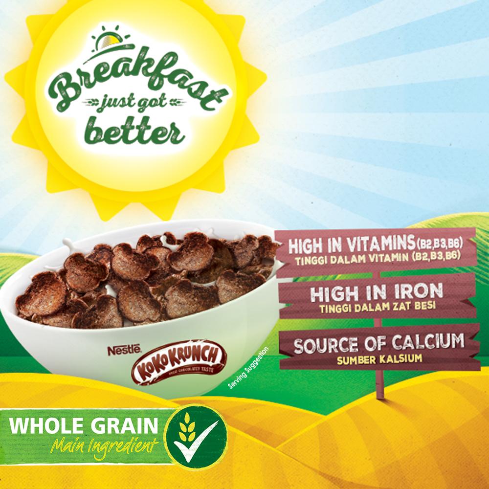 NESTLE Koko Krunch DUO Cereal 330g bonus pack 30g x 2 boxes