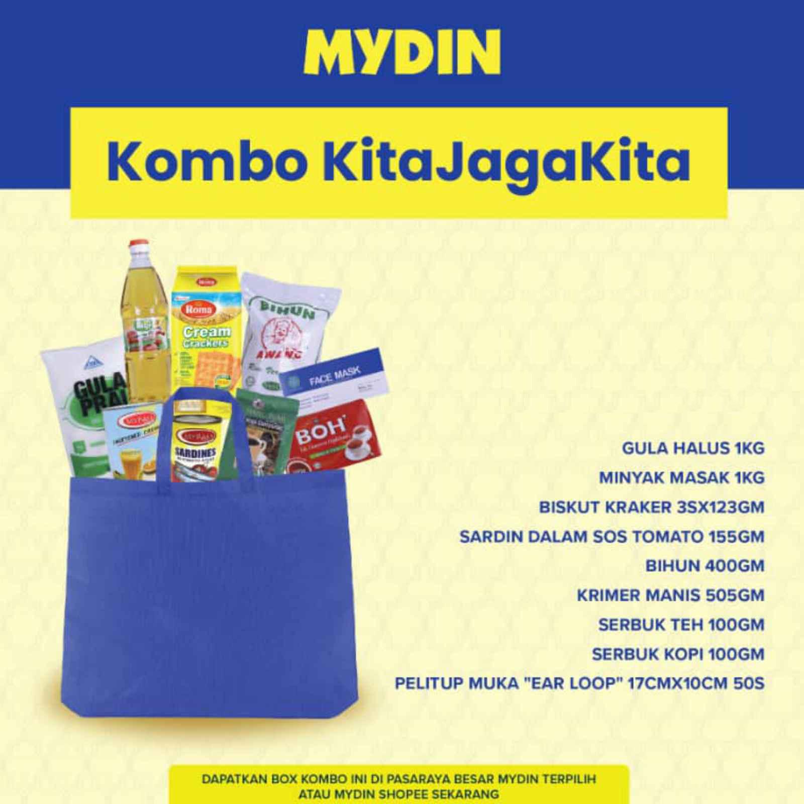 Kita Jaga Kita Box Combo (9 items)