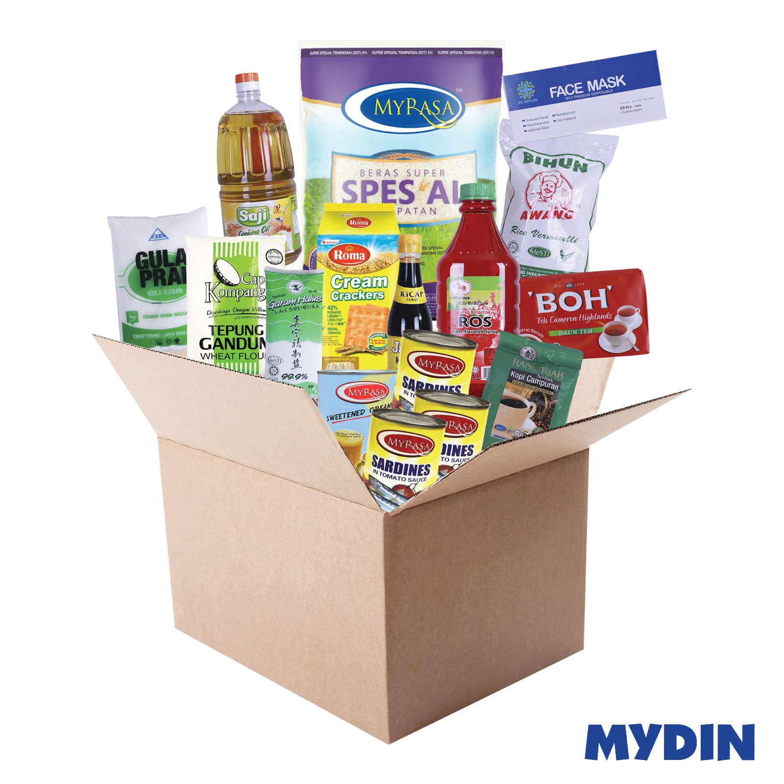Lindungi Diri Box Combo (14 items)