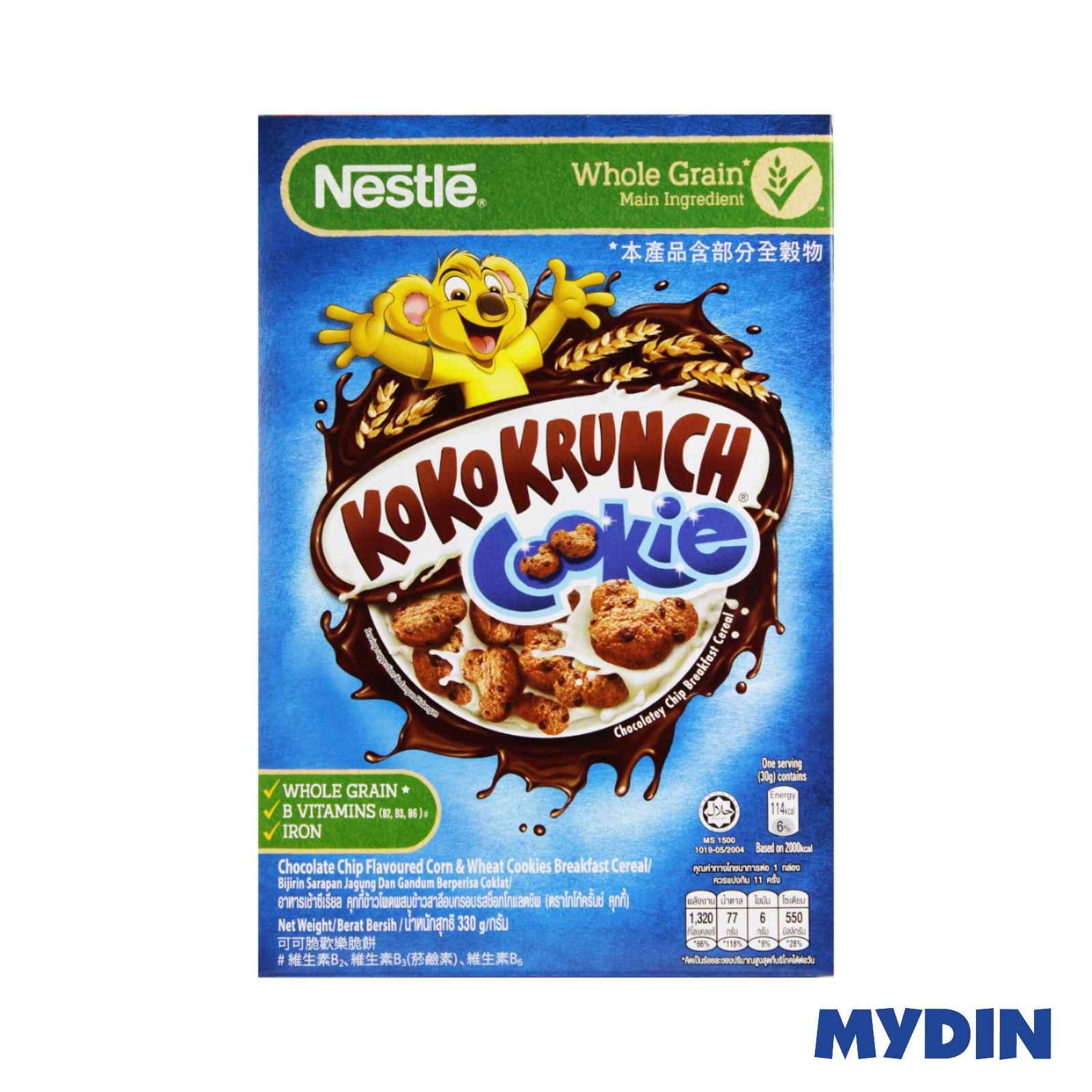 Nestle Cookie Crisp Chocolatey Chip Breakfast Cereal (330g)
