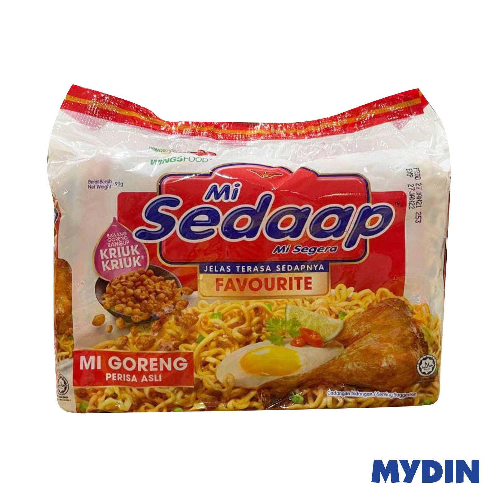 Mi Sedaap Fried Noodle - Original Flavour (5 x 91g)