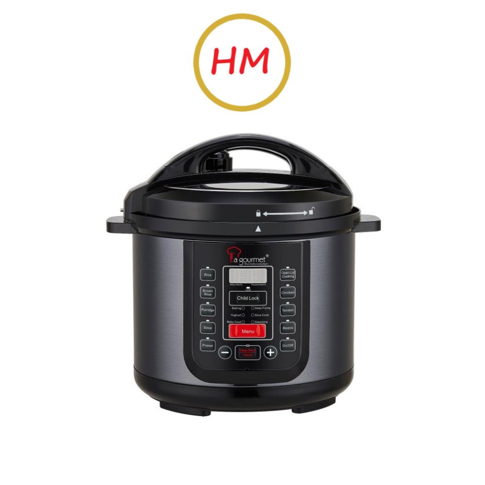 La Gourmet 4L Healthy Pressure Cooker