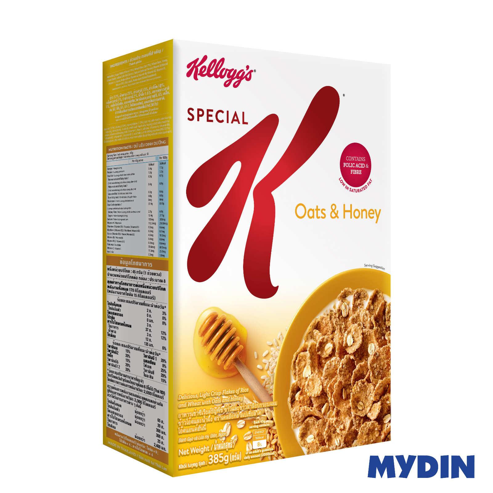 Kellogg's Special K Oats & Honey (385g)