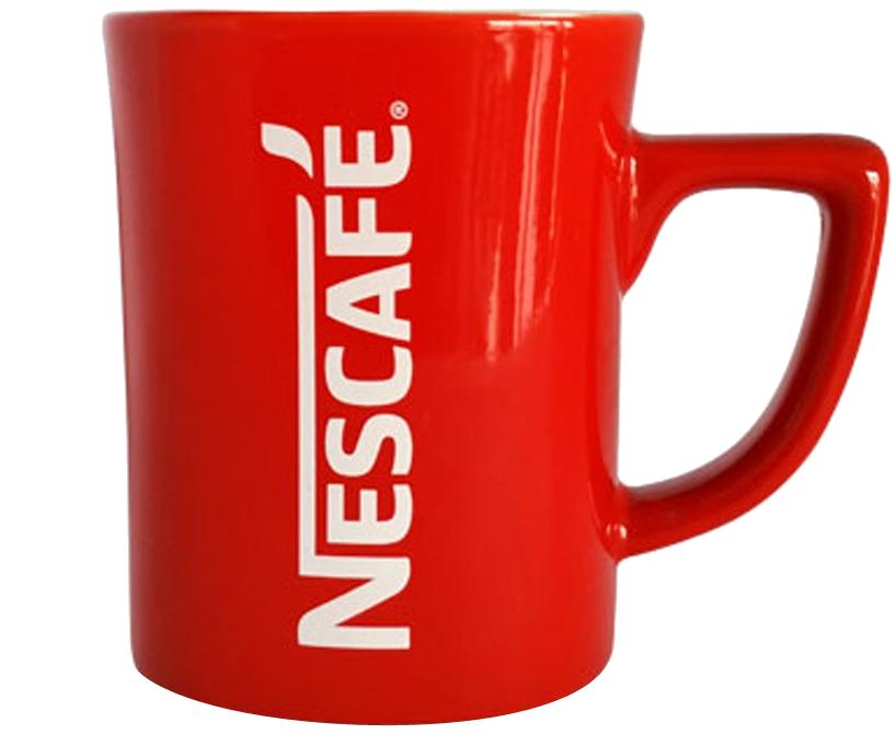 Nescafe Coffee Mug Glass