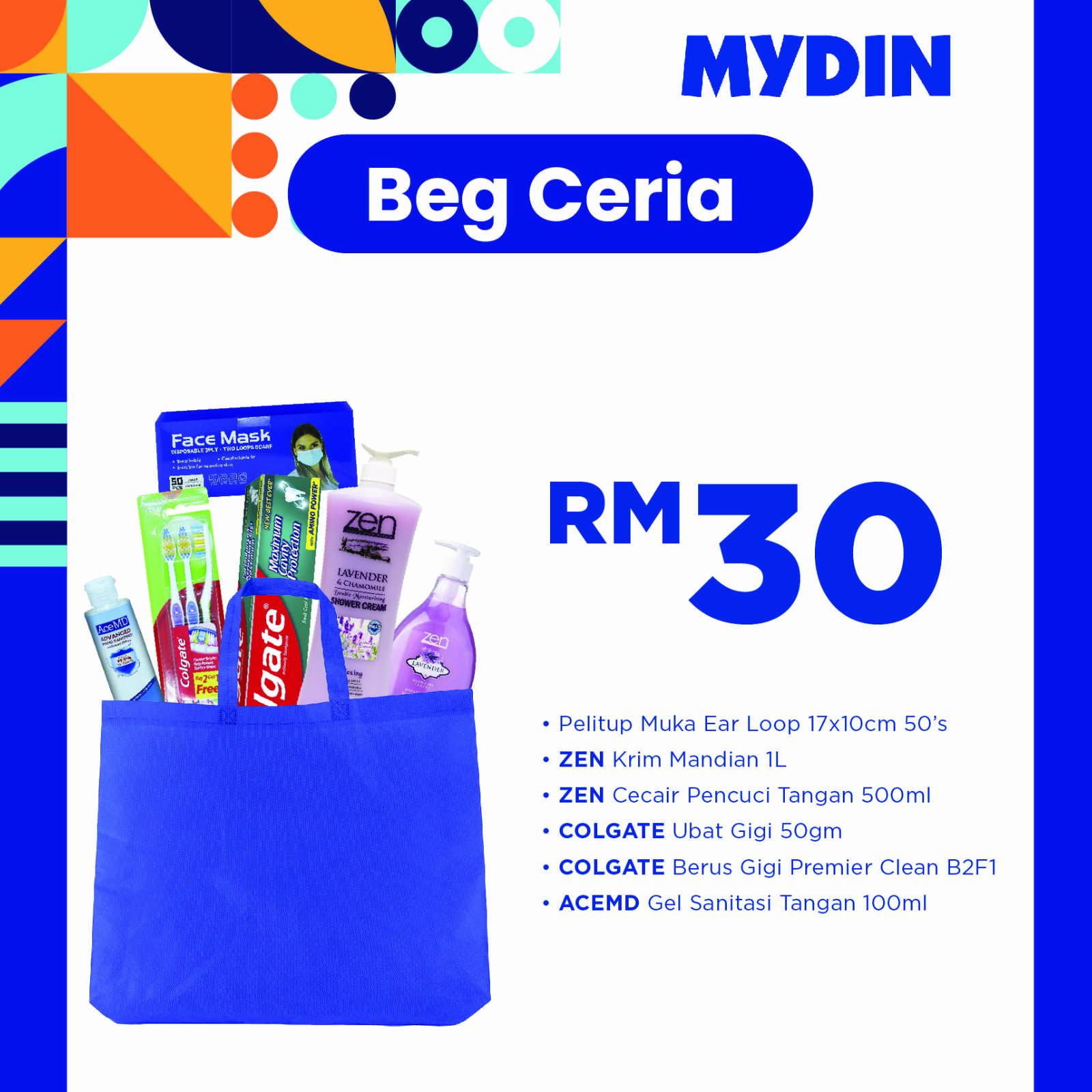 Ceria Beg Combo (7 items)