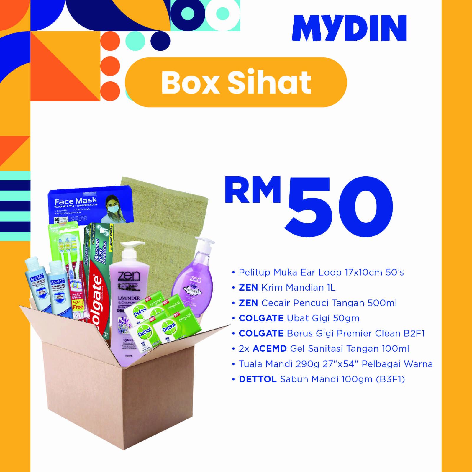 Sihat Combo Box (8 items)