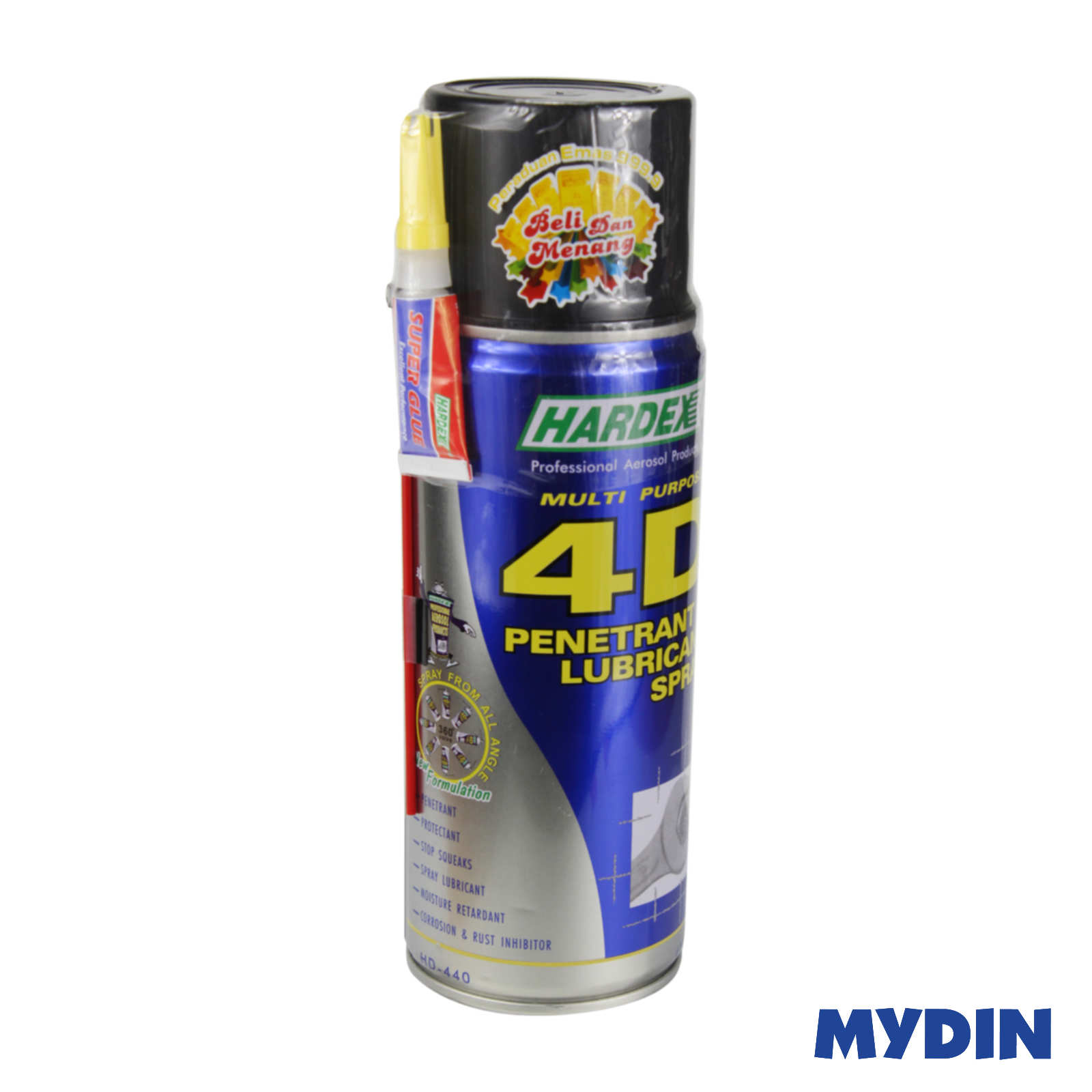Hardex 4D Penetrant & Lubricant Spray 400ml