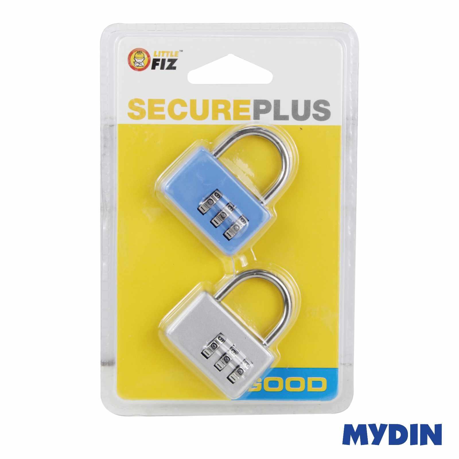 Little Fiz Secure Plus Combination Padlock 2 In 1