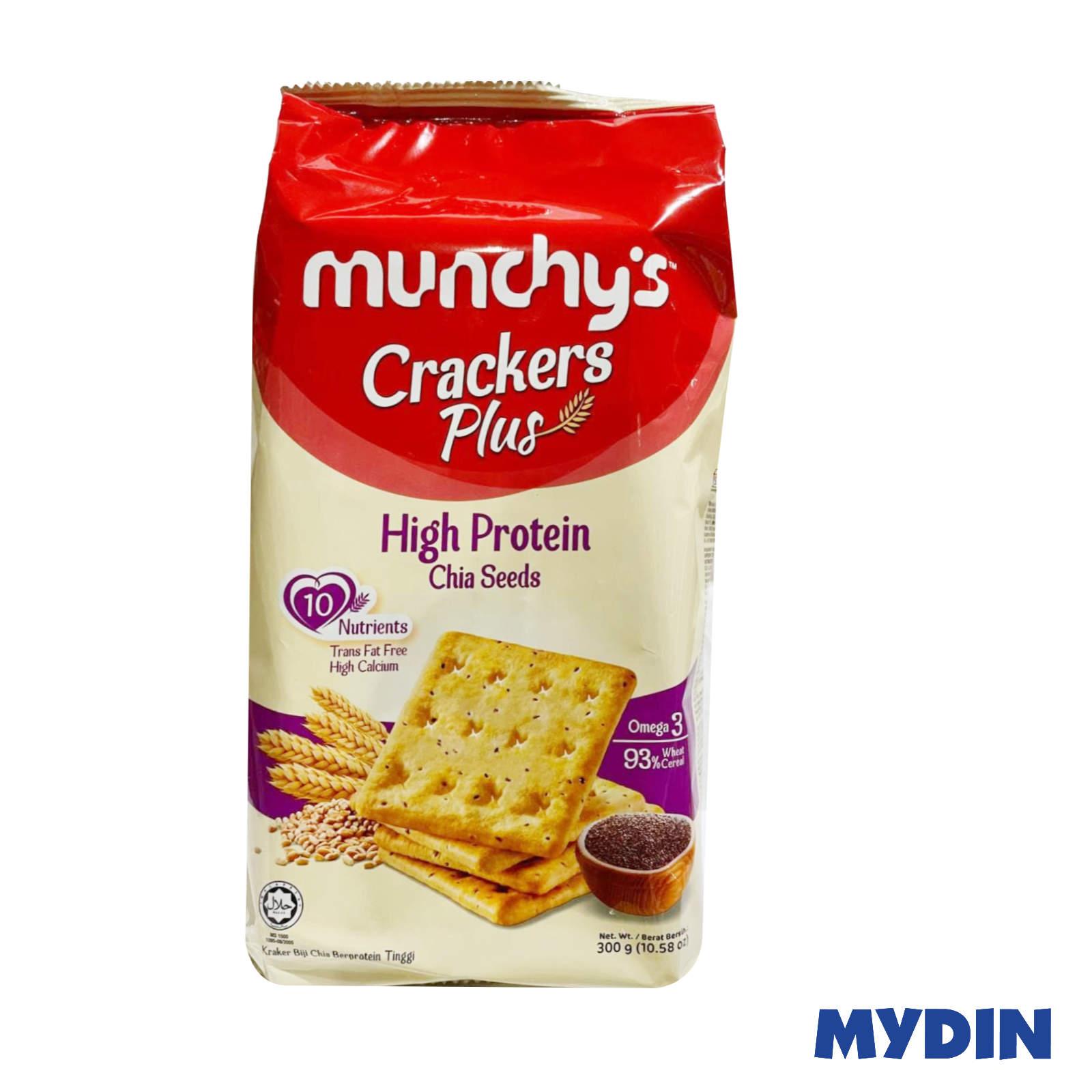 Munchy's Cracker Plus High Protein Chia Seed 300g