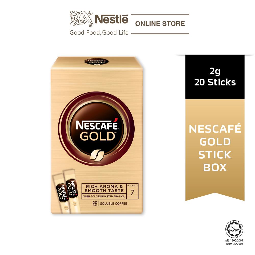 NESCAFÉ GOLD Coffee Stickbox 20stick x 2g Each