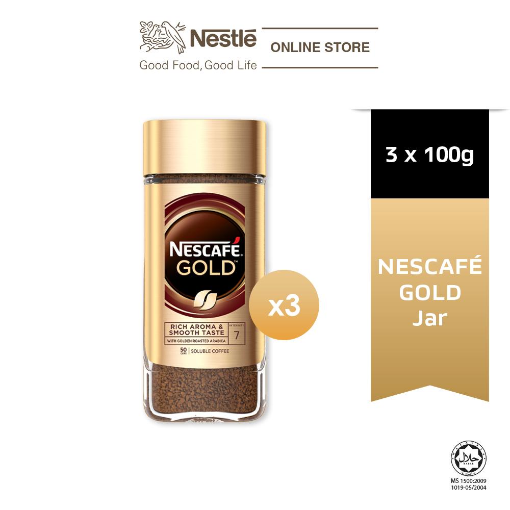NESCAFE Signature GOLD Jar 100g x3 jars
