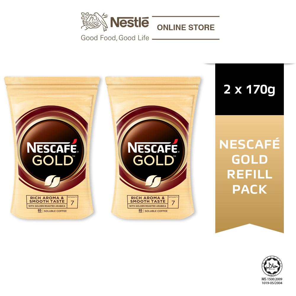 NESCAFE GOLD Refill 170g (Bundle of 2)