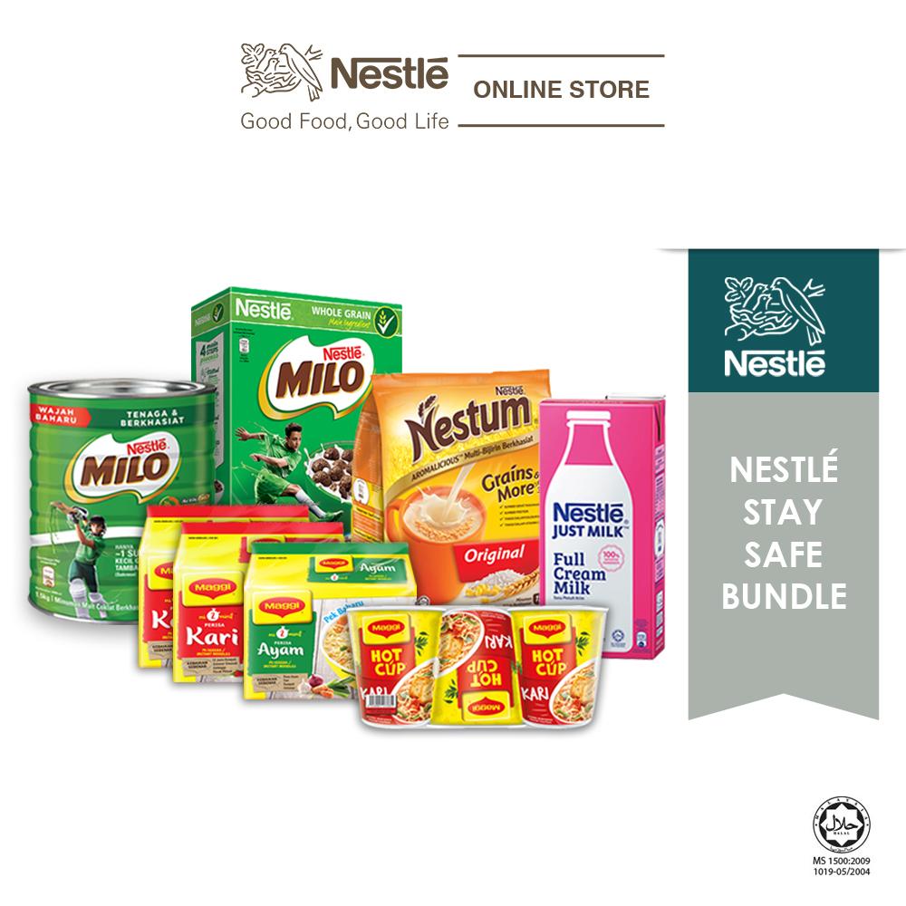Nestle Stay Safe Home Bundle