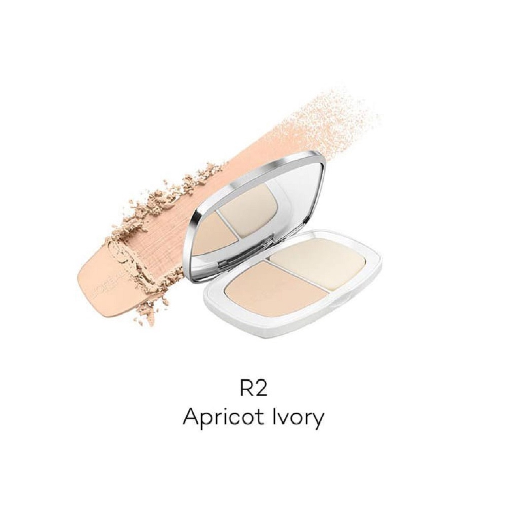 L'Oreal Paris True Match Two Way Powder Foundation - R2 Apricot Ivory