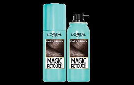 L'Oreal Paris Magic Retouch Instant Root Concealer Spray - DARK BROWN 75ML