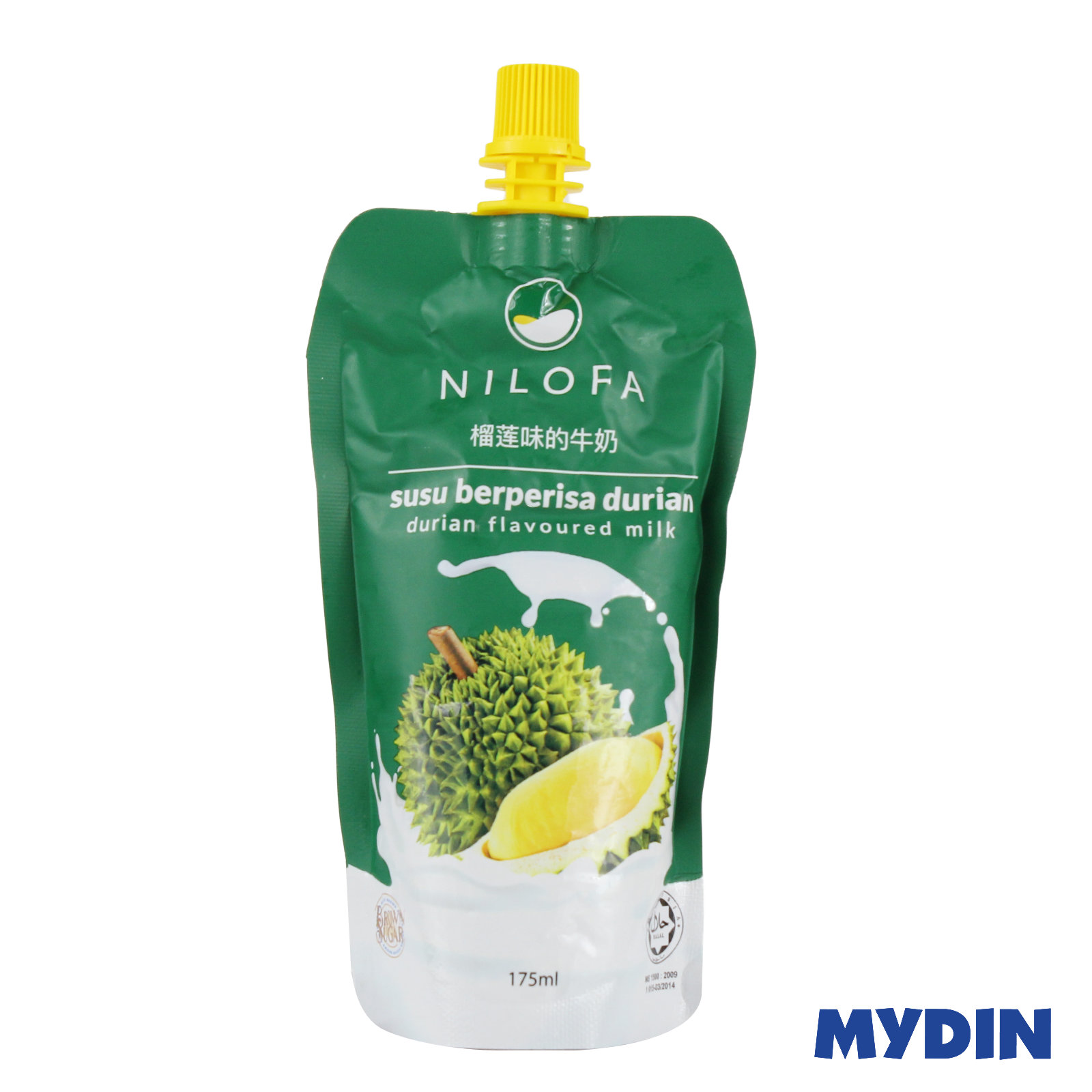 Nilofa Flavoured Milk Durian 175ml