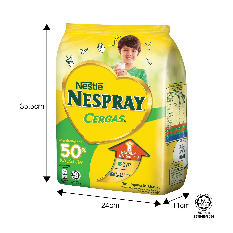 NESPRAY CERGAS Milk Powder Soft Pack 1.6kg x2 packs