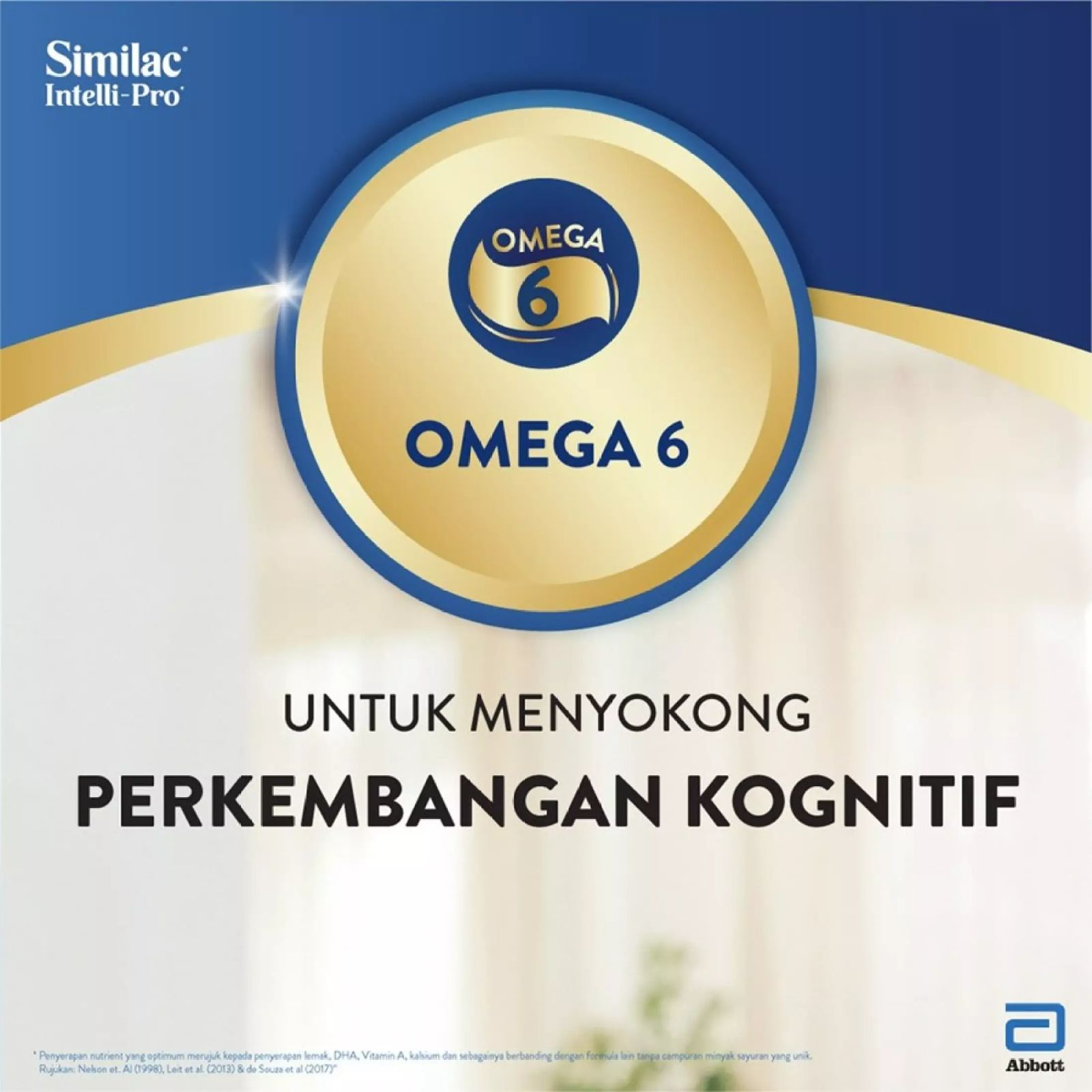 Similac Intelli-Pro Step 3 (1.2Kg) FOC 1 Pack 150g [While Stock Last]