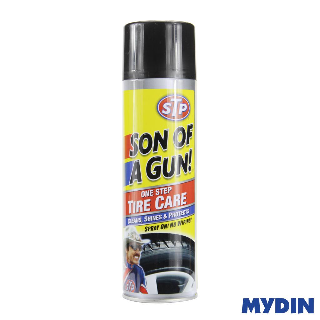 STP Son Of A Gun One Step Tire Care (600ml)