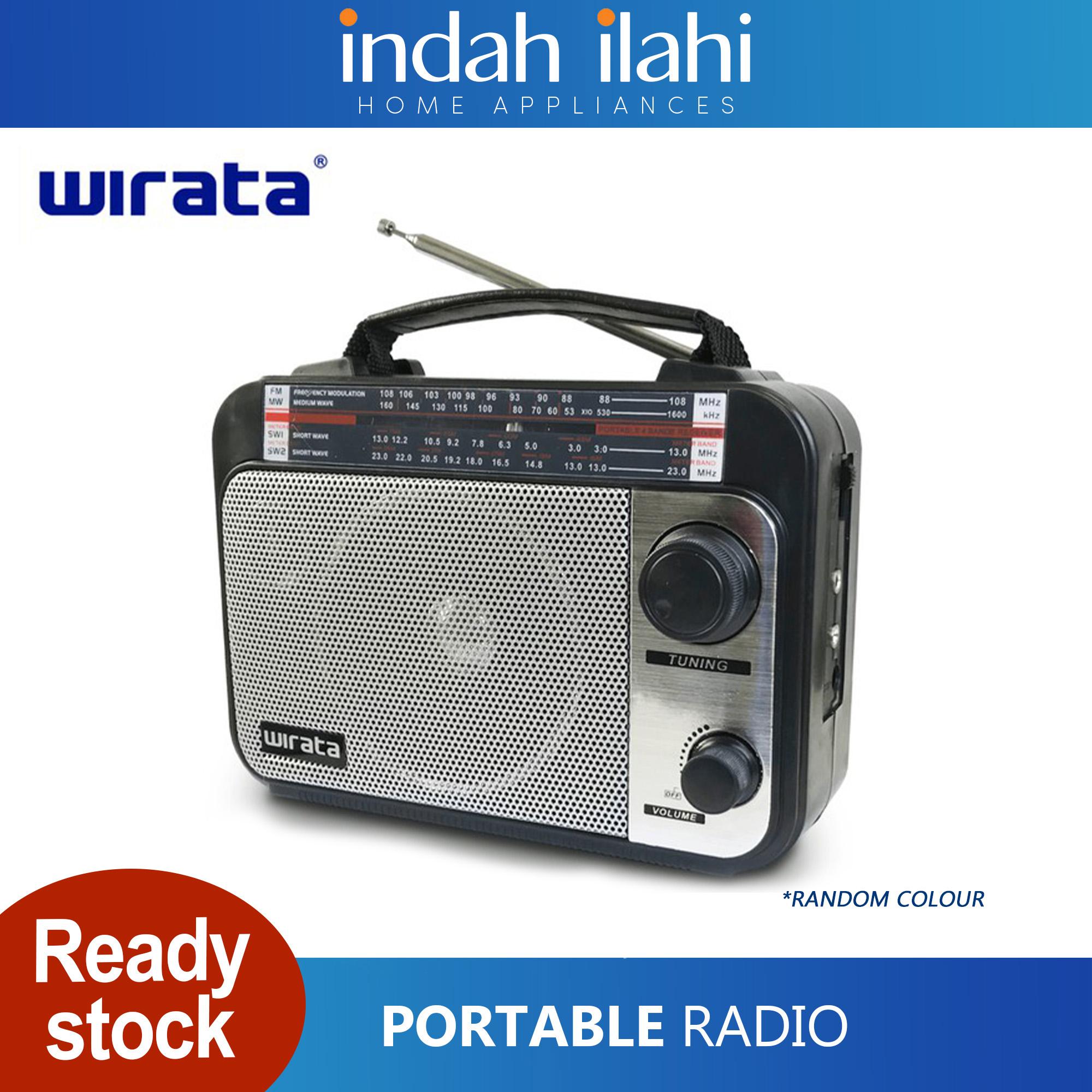 Wirata Portable Radio With AUX LTQ1 LTQ1A