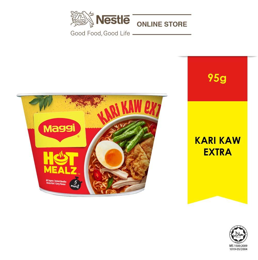 MAGGI Hot Mealz Kari Kaw Extra 95g