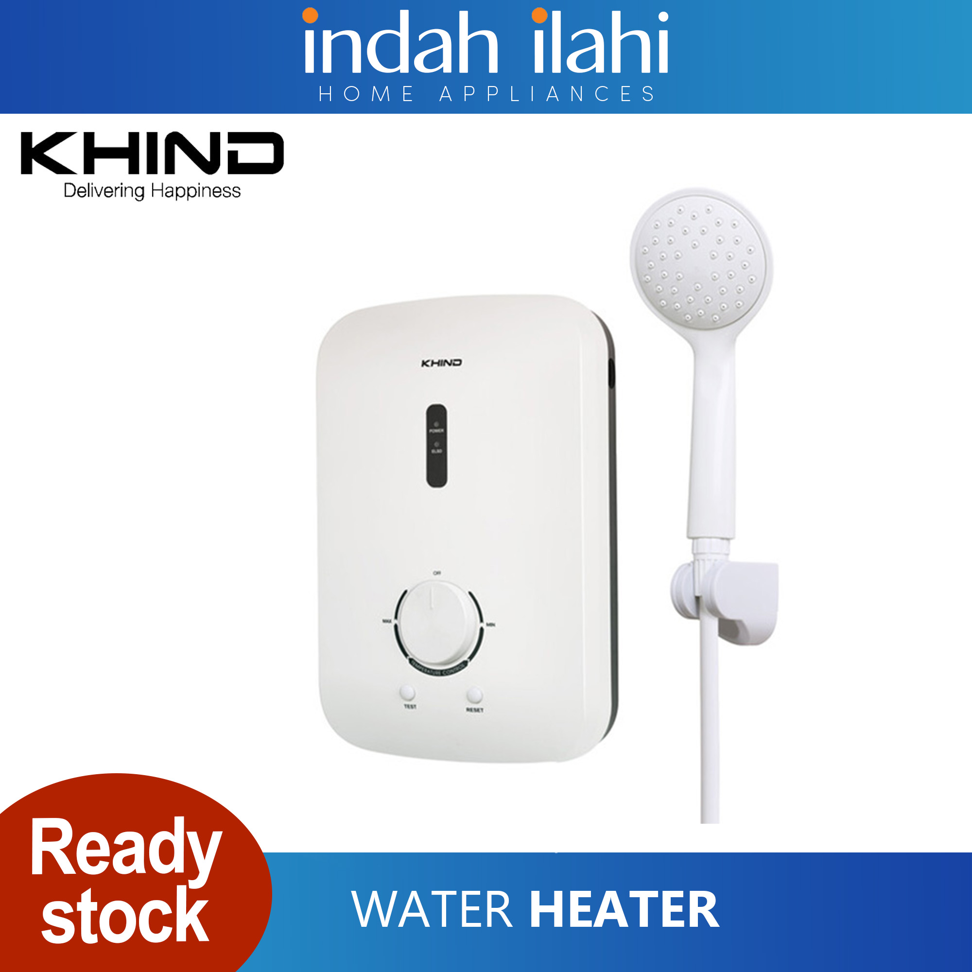 Khind Water Heater Non Pump WH802