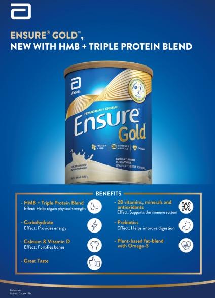 Ensure Gold Vanilla 850g X 2 Tins 11street Malaysia