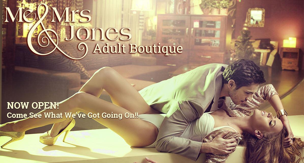 Me & Mrs Jones Banner