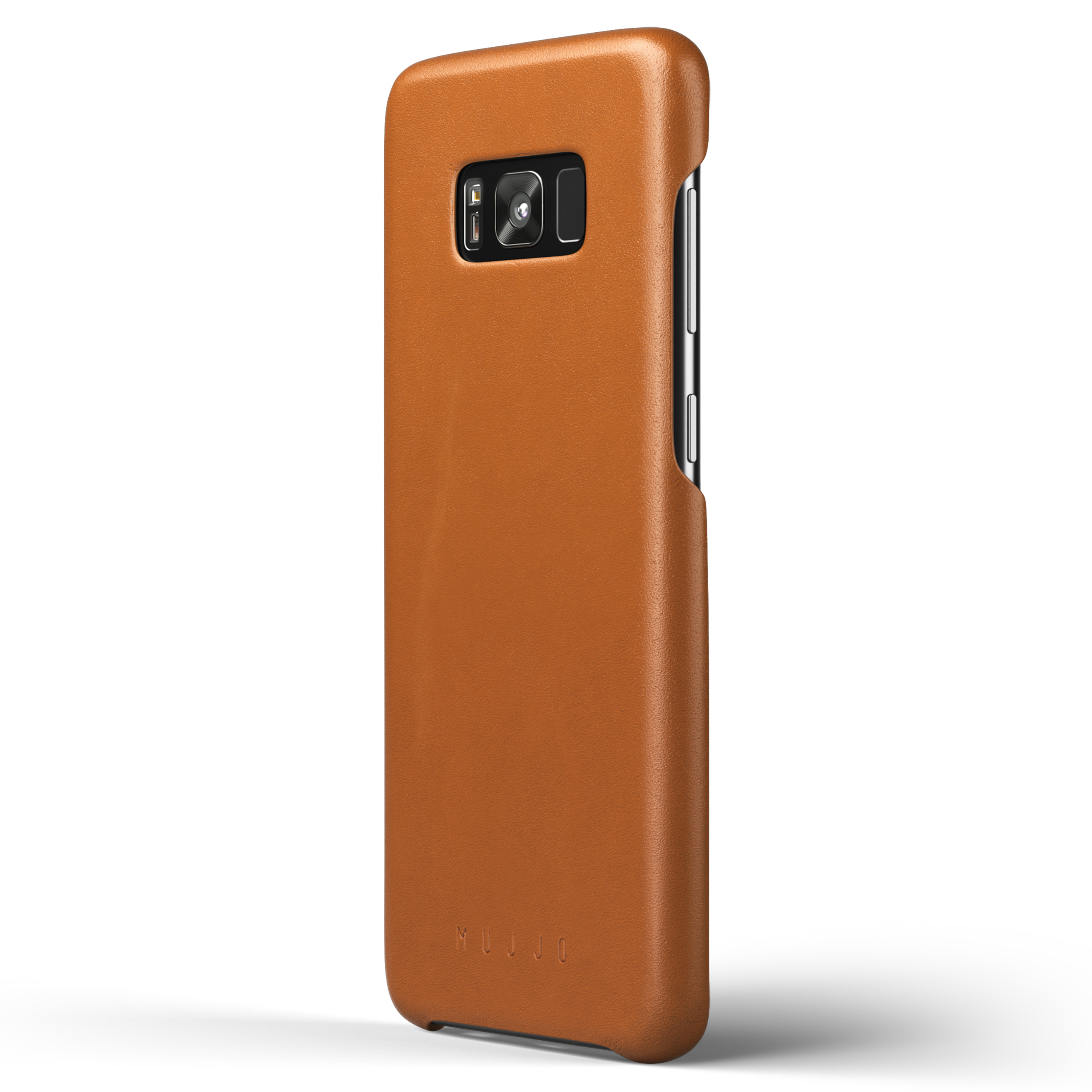 new styles ceedf ca4e8 Details about NEW Mujjo Leather Slim Protective Case for Samsung Galaxy S8  Plus - Saddle Tan