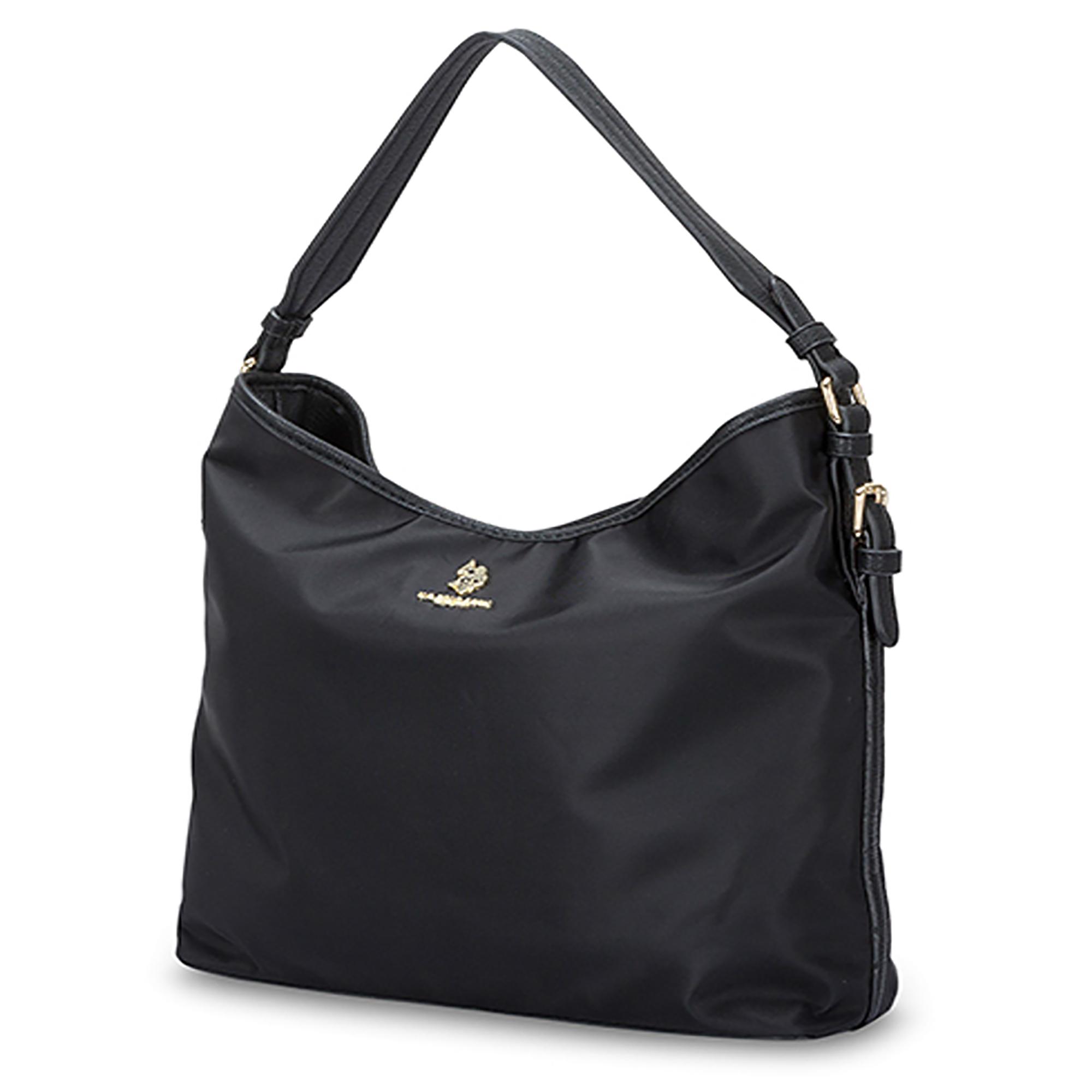 NEW-US-Polo-Assn-Houston-Hobo-Zip-Top-Handbag-Casual-Fashion-Nylon-Single-Strap thumbnail 5