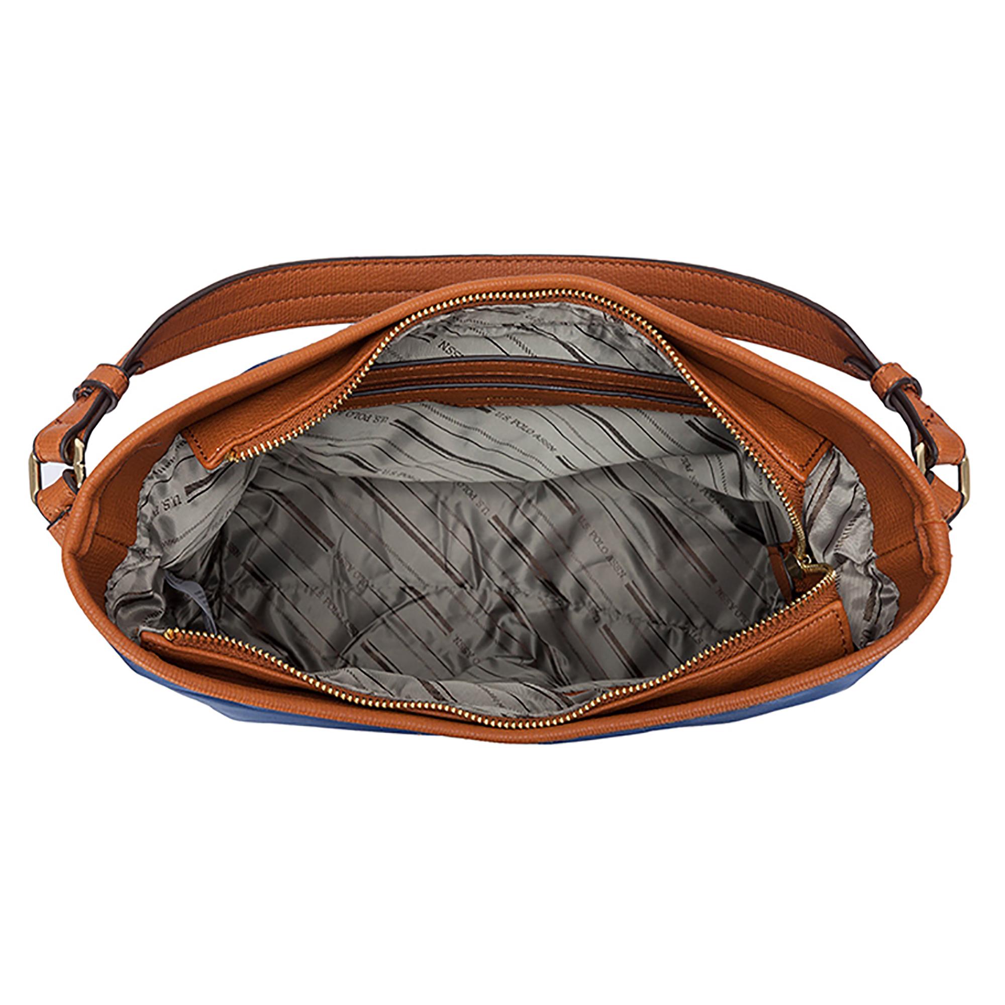NEW-US-Polo-Assn-Houston-Hobo-Zip-Top-Handbag-Casual-Fashion-Nylon-Single-Strap thumbnail 9