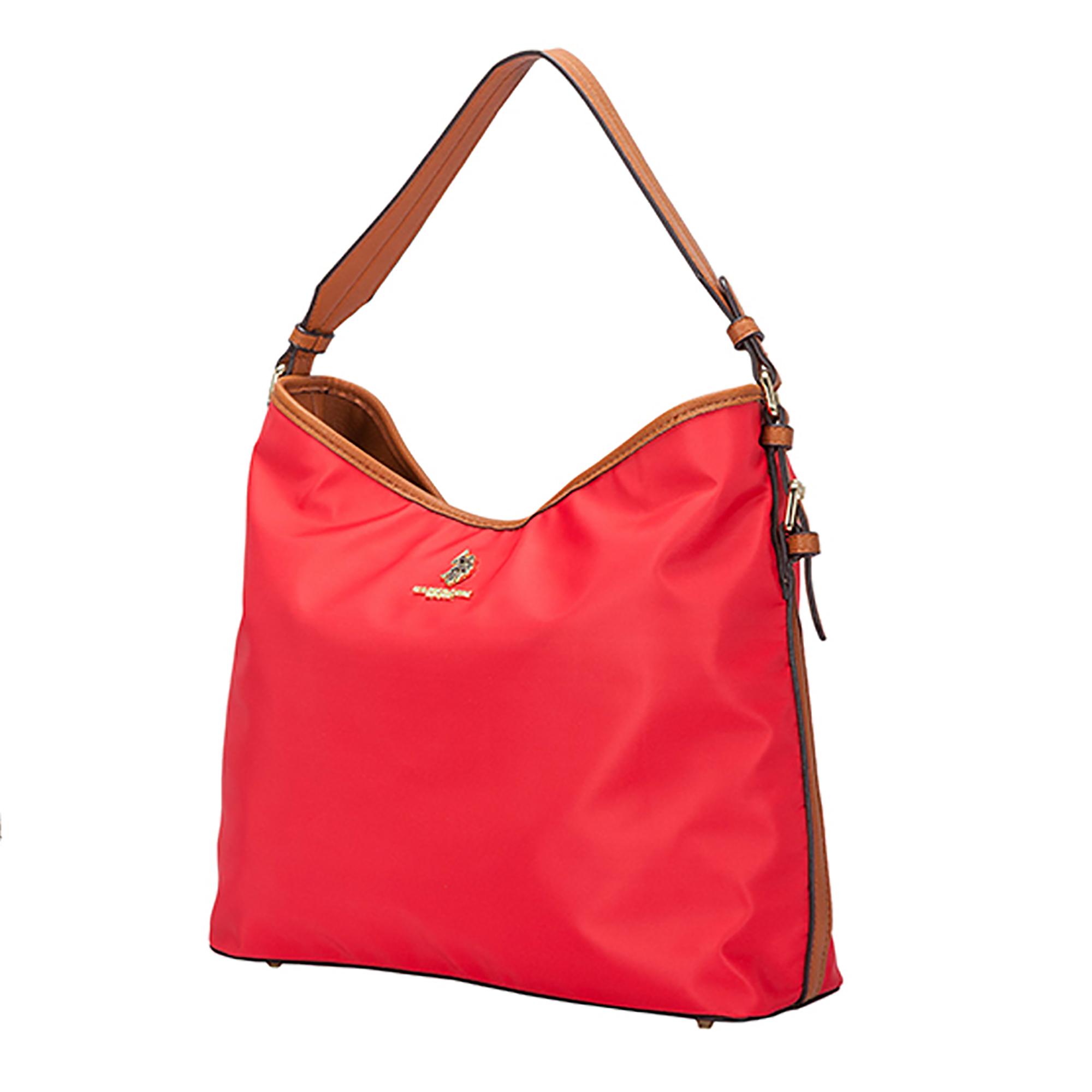 NEW-US-Polo-Assn-Houston-Hobo-Zip-Top-Handbag-Casual-Fashion-Nylon-Single-Strap thumbnail 11