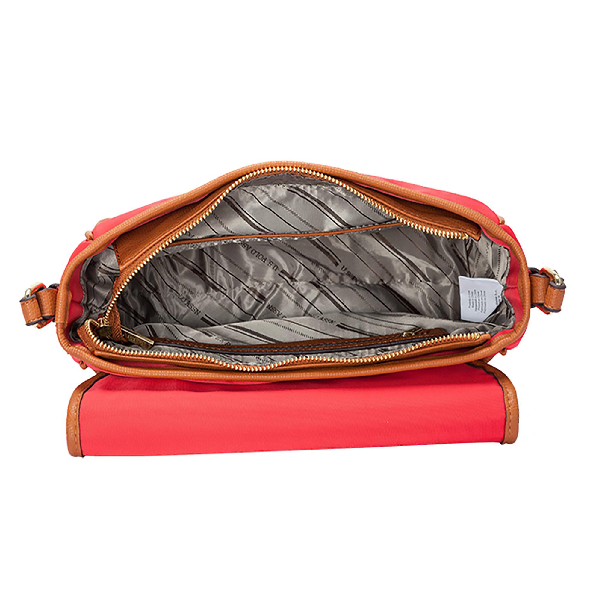 04f3846bb7 NEW US Polo Assn. Houston Womens Messenger Handbag Fashion Nylon ...
